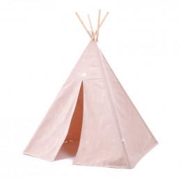 Tipi Phoenix - White bubble & Misty pink