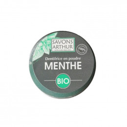 Dentifrice en poudre Bio - Menthe - 30 g