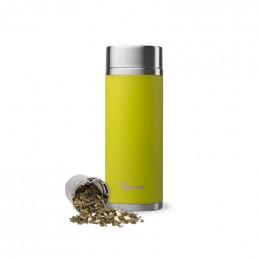 Théière nomade isotherme en inox 400 ml - Vert