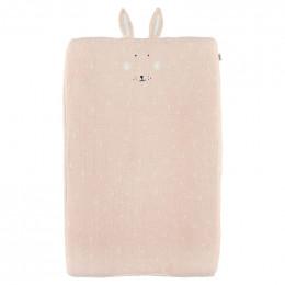 Housse de matelas à langer 70x45cm - Mrs. Rabbit