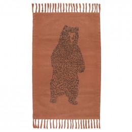 Tapis en tricot - Brave Bear