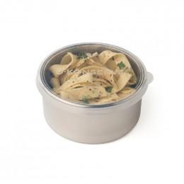 Boîte ronde en inox -  470 ml