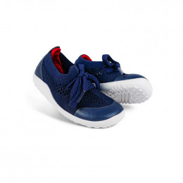 Chaussures Step Up - 732604 Play Knit Navy + Red