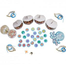 Jeu - Fiesta des perles - Dés, collecte et laçage