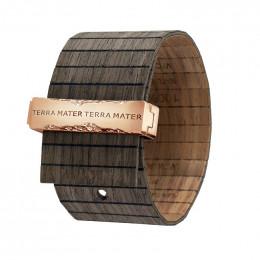 Bracelet en bois Talia Black Nut Rose