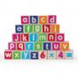 30 blocs alphabets en bois - à partir de 12 mois