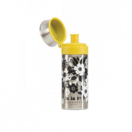 Gourde en inox - 350 ml - Fleurs