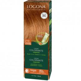 Crème colorante végétale Bio - 210 Couleurs d'automne - 150 ml