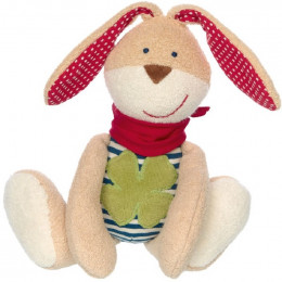 Peluche Nature - Lapin trèfle