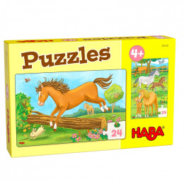 Puzzles - Chevaux