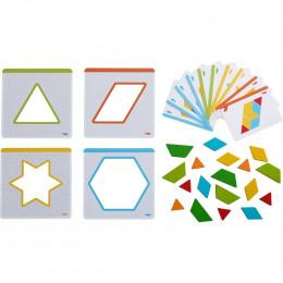 Jeu d'assemblage - Formes multicolores