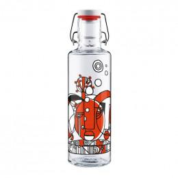 Bouteille en verre - 600 ml - Leave non one behind