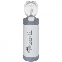 Gourde isotherme Pow Squeak - 295 ml - Blanc