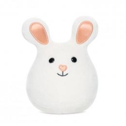 Mini hochet grelot Bunny - Blanc