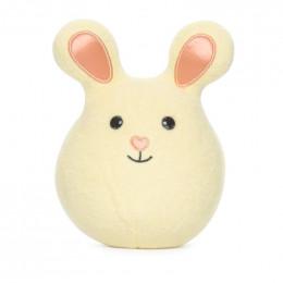 Mini hochet grelot Bunny - Jaune