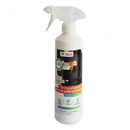 Nettoyant pour vitres de poêle et insert - 500 ml