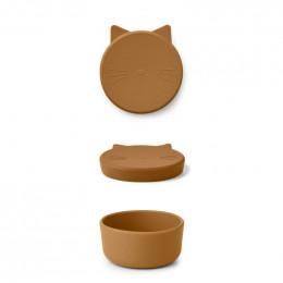 Boîte à collations Cornelius - Cat mustard