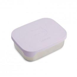 Boîte à tartines Arthur - Cat light lavender