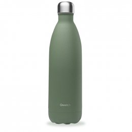 Gourde bouteille nomade isotherme - 1 litre - Granite kaki