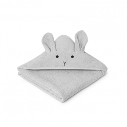 Cape de bain Augusta - Rabbit dumbo grey