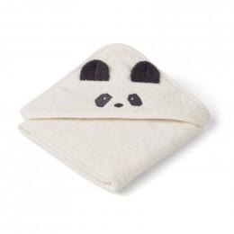 Cape de bain Augusta - Panda crème de la crème