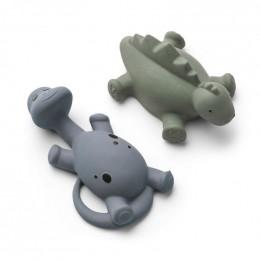 Set de 2 jouets de bain Algi Blue mix