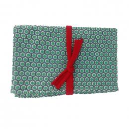 Furoshiki 75 x 75 cm - Honeycomb - Green