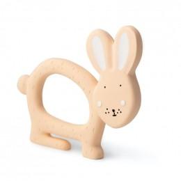 Jouet de préhension en caoutchouc naturel - Mrs. rabbit