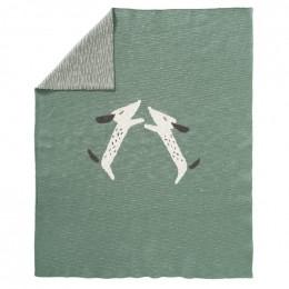 Couverture en tricot - Dachsy
