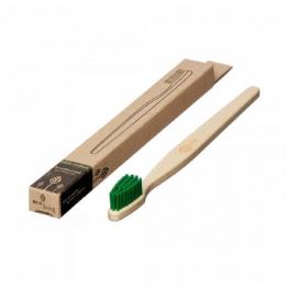 Brosse à dent en bois Adulte - Vert