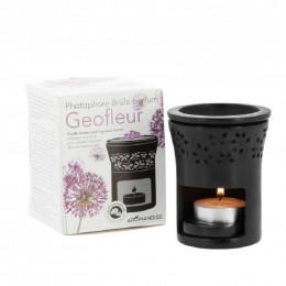 Diffuseur photophore brûle parfum - Geofleur noir
