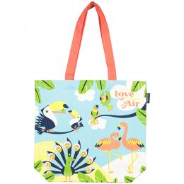 Sac shopping en coton bio - Love is in the air