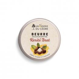 Beurre de Karité brut - 100 ml