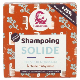 Shampooing solide - Cheveux normaux - Huile d'Abyssinie - 70 ml
