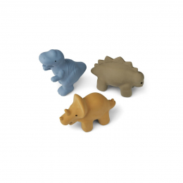 Set de 3 jouets de bain David - Dino multi mix