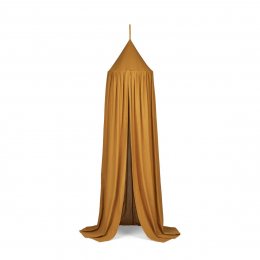 Ciel de lit tente Enzo - Golden caramel
