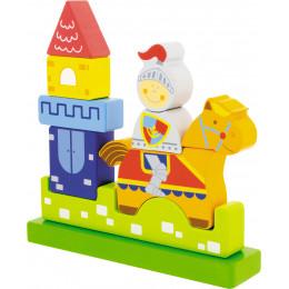 """Puzzle magnétique 3D """"le petit chevalier"""" - à partir de 10 mois"""