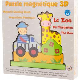 """Puzzle magnétique 3D """"le zoo"""" - à partir de 10 mois"""
