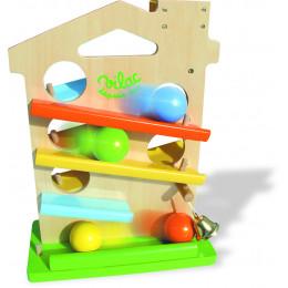 Maison des boules ( 4 boules ) - à partir de 18 mois *