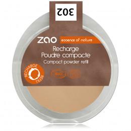 Navulling Compact Gezichtspoeder 302 (Oranje beige)