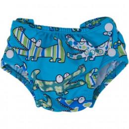 Zwemluier Krokodil blauw