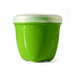 Bewaardoos uit 100% gerecycleerd materiaal 235 ml Groen