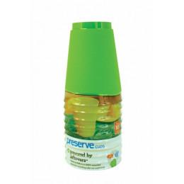 12 herbruikbare glazen gerecyclede materialen