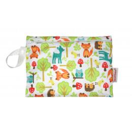 Universele wet bag - Mini - Zipper - Woodland