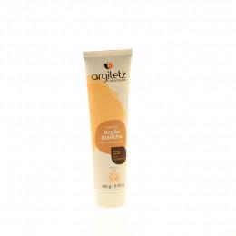 Witte klei gezichtsmasker in tube - 100 gr