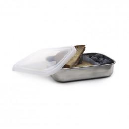 Inox lunchbox met compartimenten - 740 ml