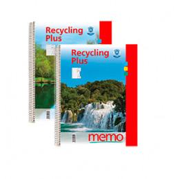Notitieboekje - Gerecycleerd papier - A4