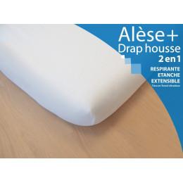 Matrasbescherming + Hoes 2-in-1 - Voor enkel bed 90x200cm