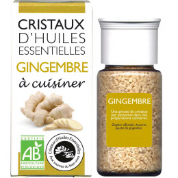 Essentiële olie kristallen - Culinair - Gember - 10g