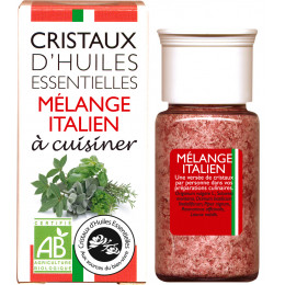 Essentiële olie kristallen - Culinair - Italiaanse mix - 10g